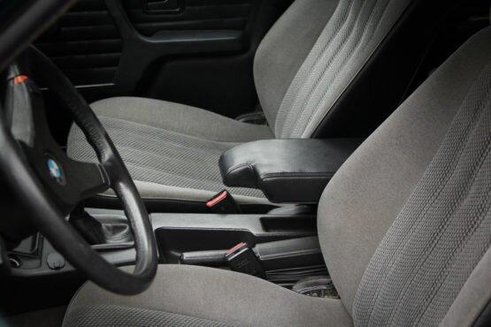 BMW e30 leather black armrest