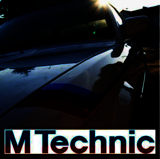 M technic stickers vinyls